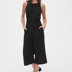 NWT GAP | Sleeveless Wide-Leg Crop Jumpsuit